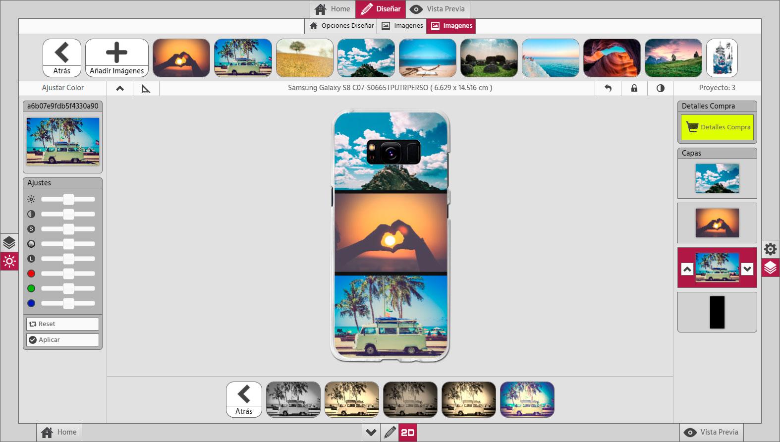 Photo Center 3D Carcasa Personalizada