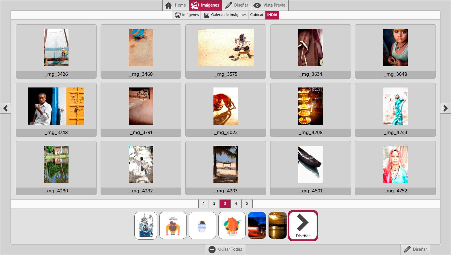 Photo Center 3D Galería de Imágenes