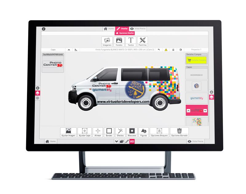 C-Print Photo Center 3D